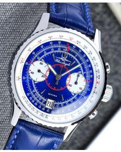 Poljot Blue Angels Chronograph Blue