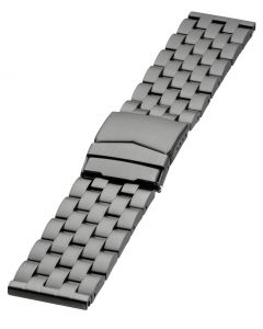 9900S   Stainless steel band - Black