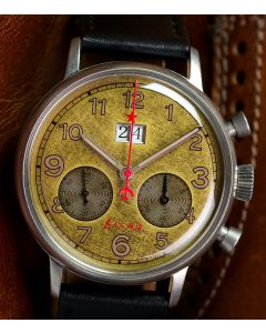 Red Star BIG DATE Chronograph
