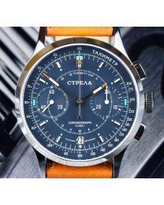 STRELA CO38CYPS Chronograph 38mm Saphir