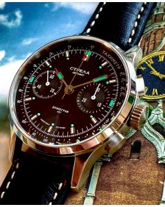 Strela Automatik Chronograph 40mm Saphir