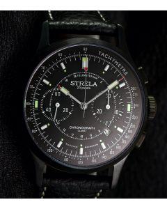 Strela Chronograph 42mm Black Cosmos