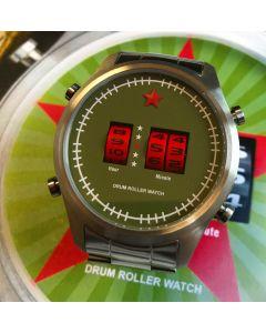 Red Star Drumroller Watch 44mm Quartz