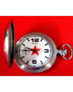 1001A  Molnija Pocketwatch