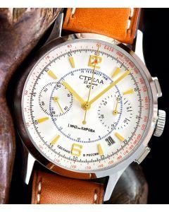 STRELA Chronograph 38mm Saphir