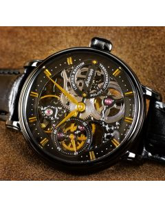 Poljot International Tsar Nicolai II BLACK - Choose your limitation number!