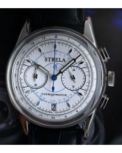Strela Chronograph Quarz Weiss