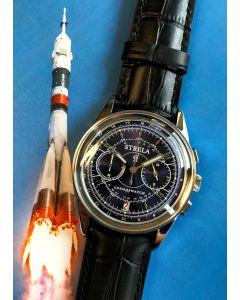 Strela Chronograph Quarz Blau