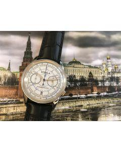 Strela Chronograph Quarz White
