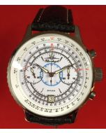 Poljot Blue Angels Chronograph Weiss