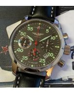 Pilot  Chronograph Berkut Poljot caliber 31681