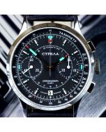STRELA CO38CYBS Chronograph 38mm Saphir
