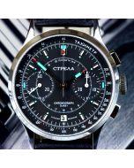 STRELA CO38CYBS Chronograph 38mm Saphir
