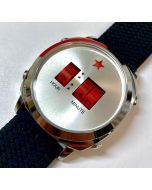 Red Star Drum Roller Watch 44mm Quarz